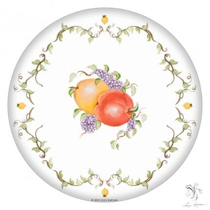 plate plain